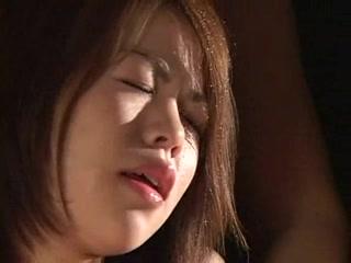 Japanese lady Fujiko receives milked Futa Deepthroat