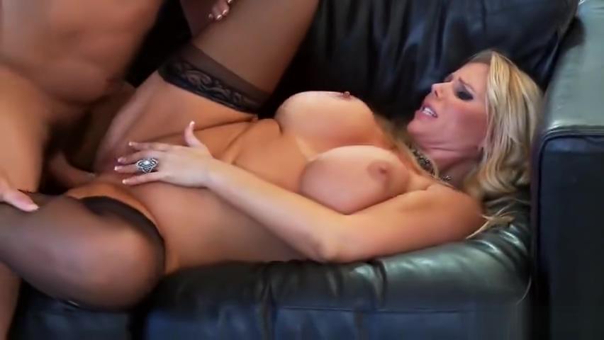 Godlike buxomy MILF Karen Fisher got fucked in group sex