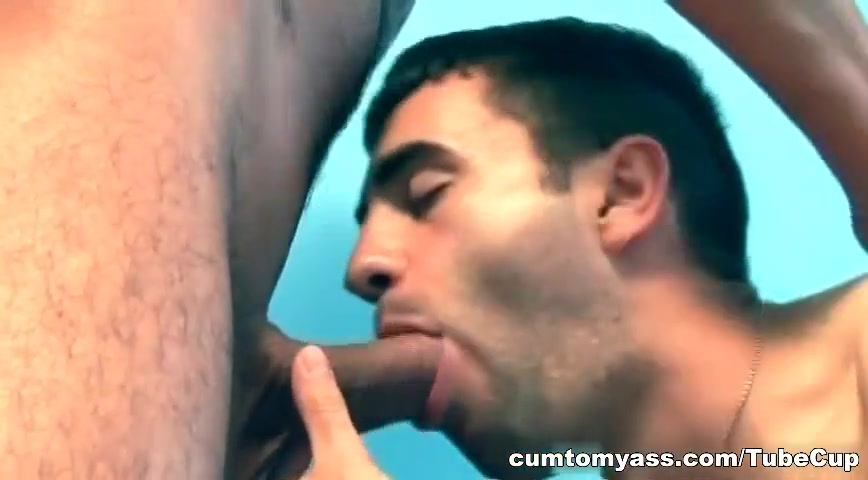 Skinny dude sucking nice and stiffed Latin cock free sexy strip video