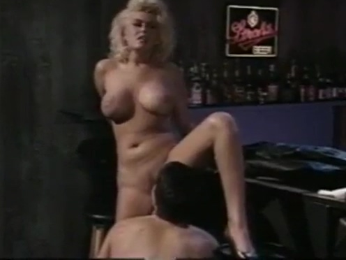 Hot stuff Carolyn Monroe gets fucked at the bar