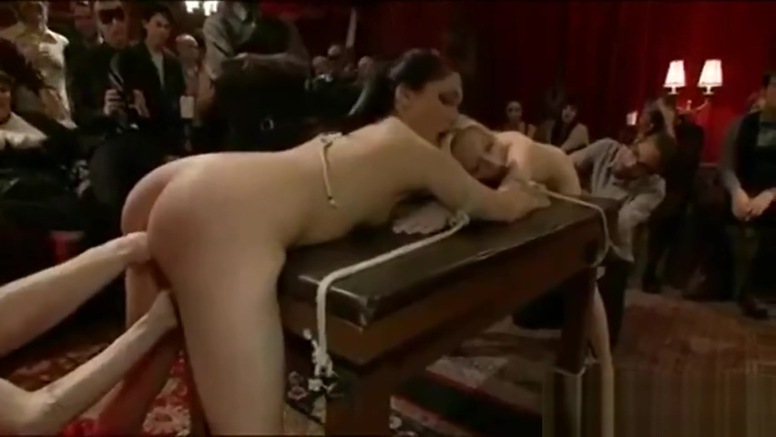 Amazing xxx movie BDSM incredible ever seen hot babes in fishnet