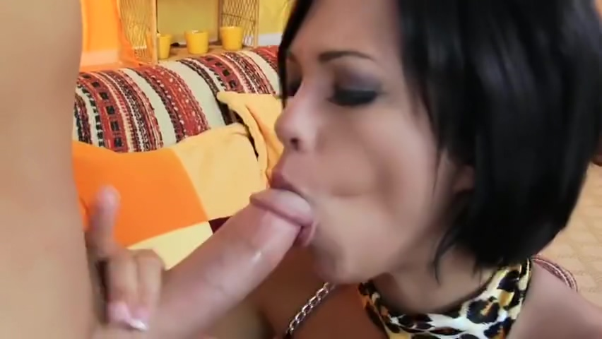 Winsome dusky Jenny Hendrix featuring nice facial cumshot porn movie