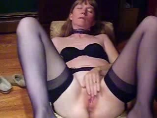 Mature lady is ready for taking pink toys in her twat on cam Enormous natural jugs anal