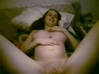 Young lady spreads her legs for sex on the amateur POV cam Girl masturbate bathroom