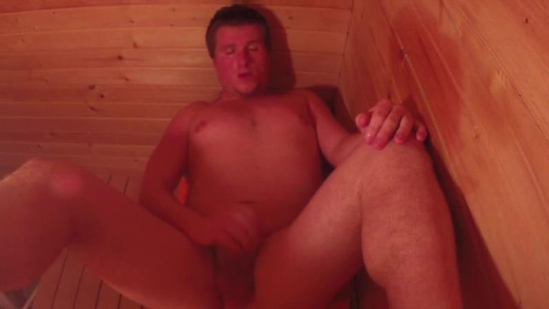 Solo Sauna Session vicky scoreland black bbw