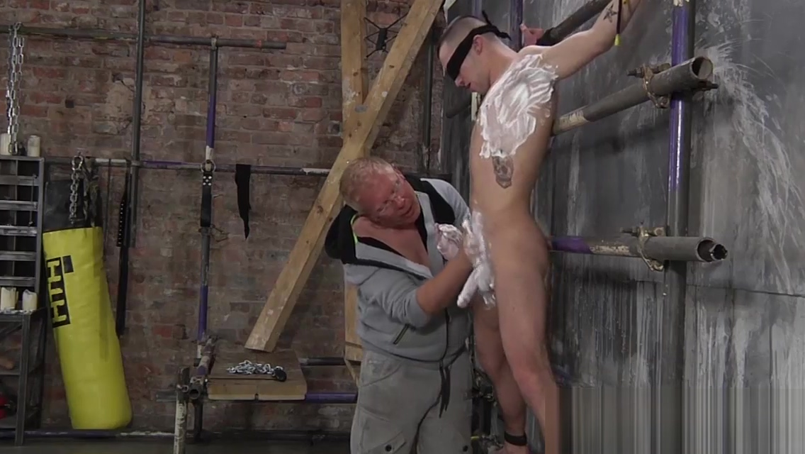 Tight ass Michael Wyatt shaved and drilled by Sebastian Fat oldies porn