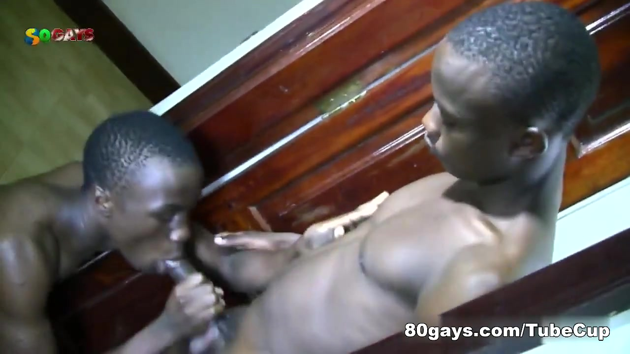 80Gays Video: Black Bareback Fuck Black tit ebony eve