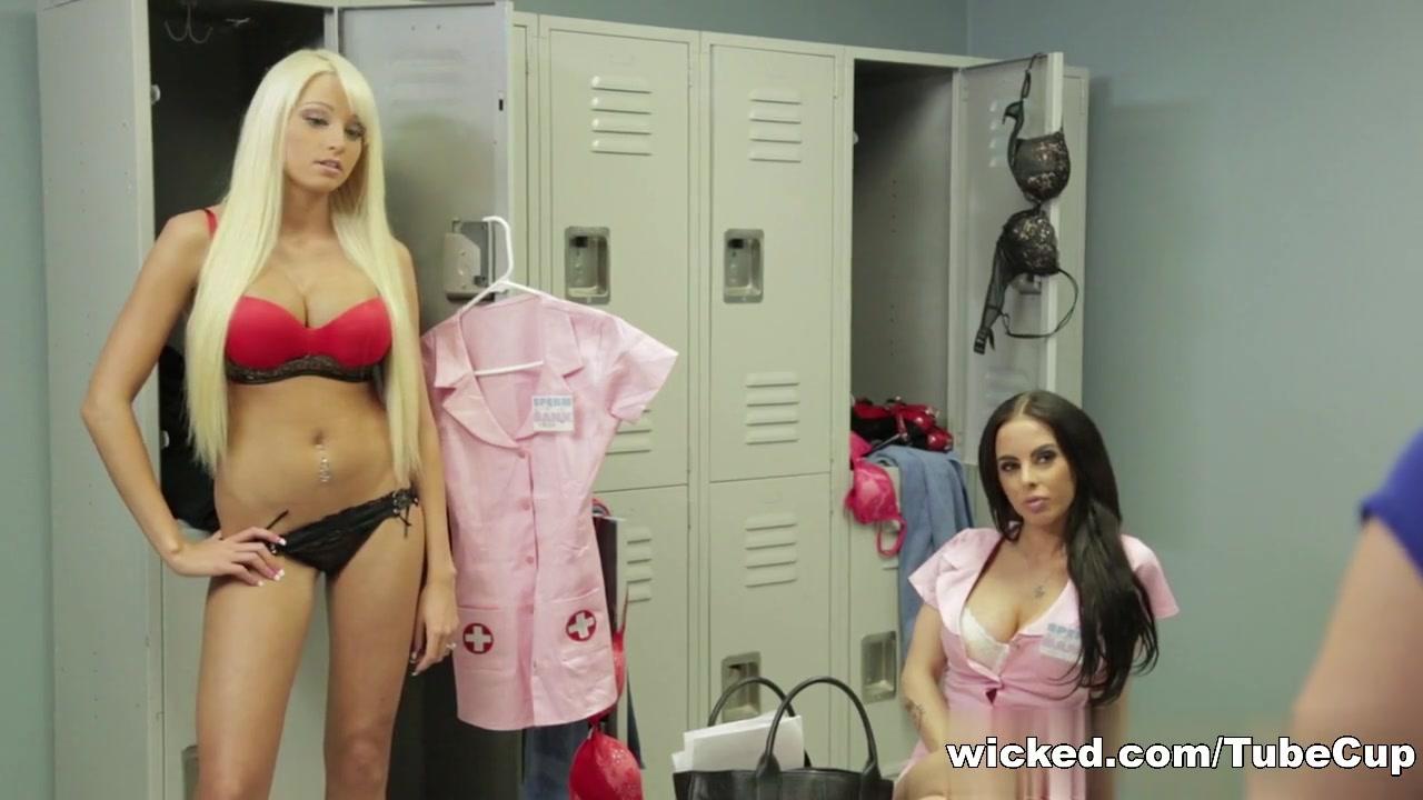 Naked closet Latex lesbiean