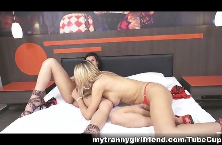 Aline Garcia and Duda Gaucha fucking excessive vaginal fluid during intercourse