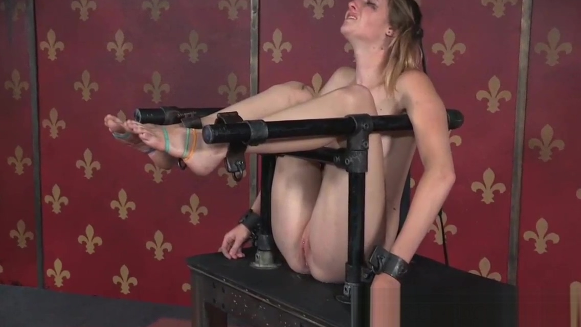 Asphyxiated BDSM sub ass caned on all four Sex stories cinema