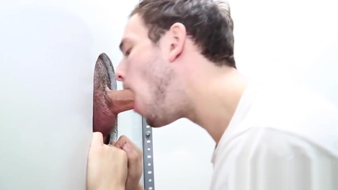Gloryhole room for gay boy raar gevoel onder aan de vagina