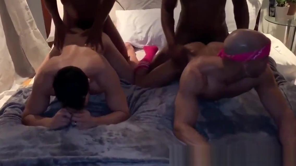 Foursome with Rhyheim Shabazz, Sean Zevran and Nitenday8 (Bareback) ebony sex big tit