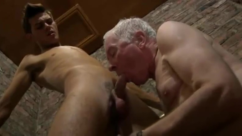 Good looking grandpa young man suck each other in a public Naked boobs aunties