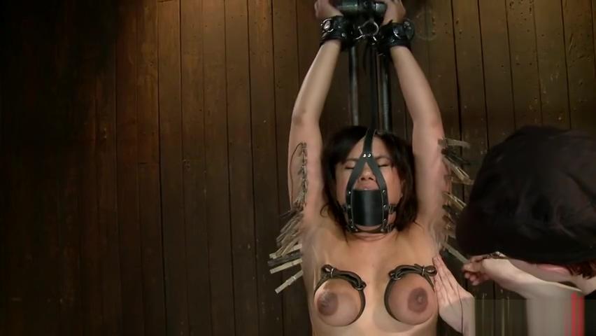 Godly Annie Cruz having a real BDSM experience