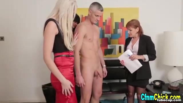 Sexy clothed femdom babes humiliate Adult diaper briefs