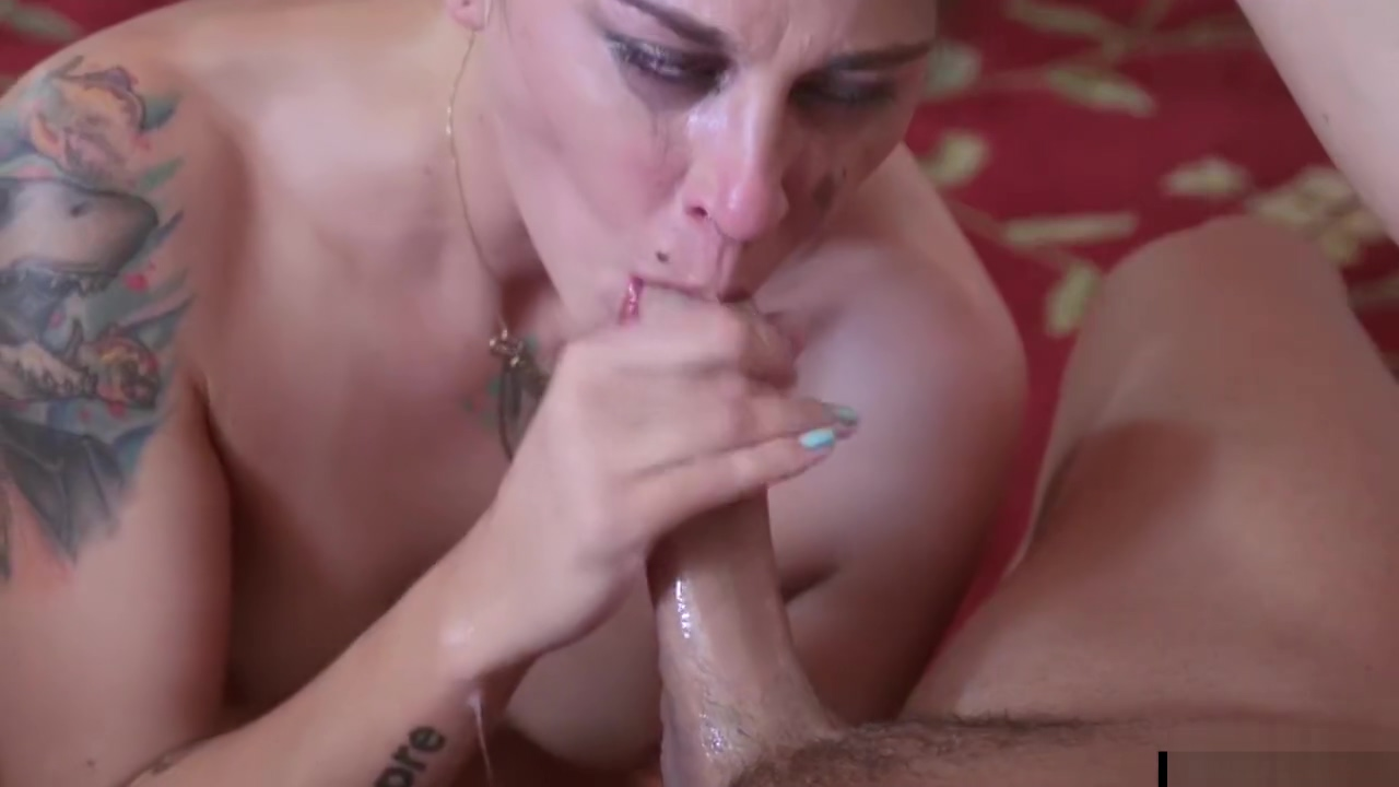 Intense Deepthroating Action making of porn movie