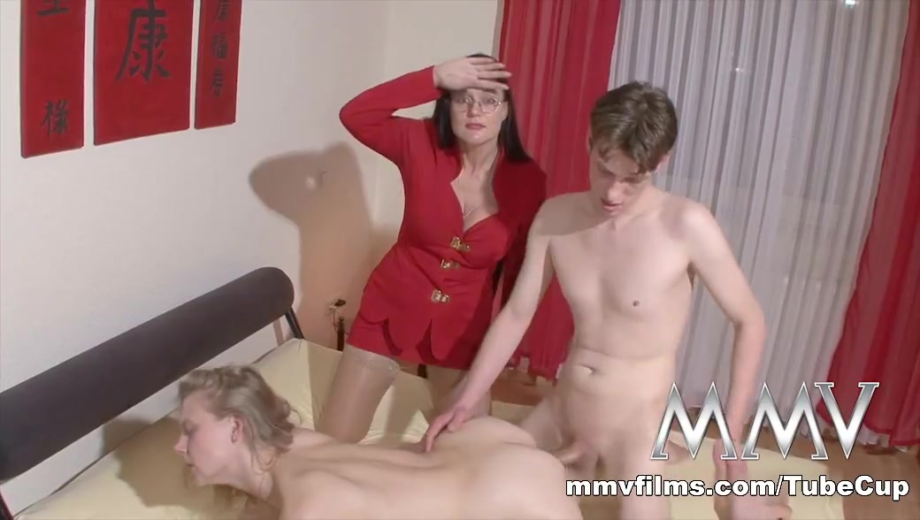 MMVFilms Video: The Sexnanny Saves Yet Another Couple Naked spread legged chinese women