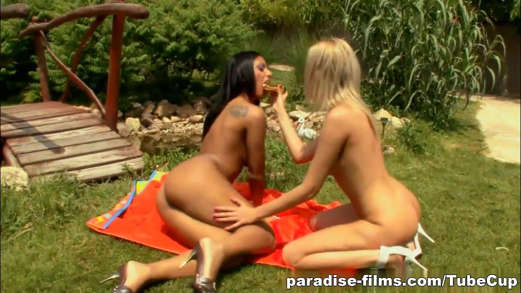 Paradise-Films Video: Girl On Girl Kinky Action First time fisting pussy