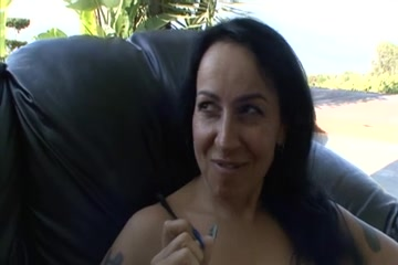 In pornos condom pussy full shit