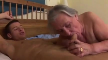 Massive granny gets anal from a young stud gay hairy ass lick