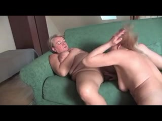 Woman does two guys Mature