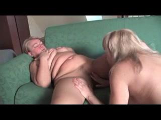 Fucks masturbated lesbiean Strapon