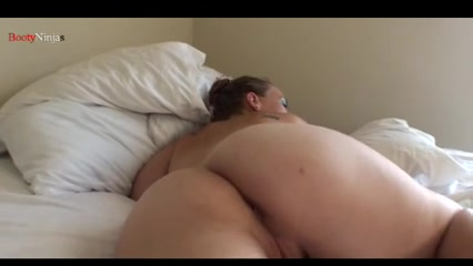 Hard cumming Bbw knockers with huge jiggly