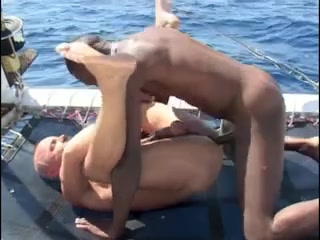 Franco Cento & Sandro on a boat Bbws love pussy s1
