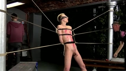 Slave boy tied up and jerked off several times Biggest hairy pussy in the world