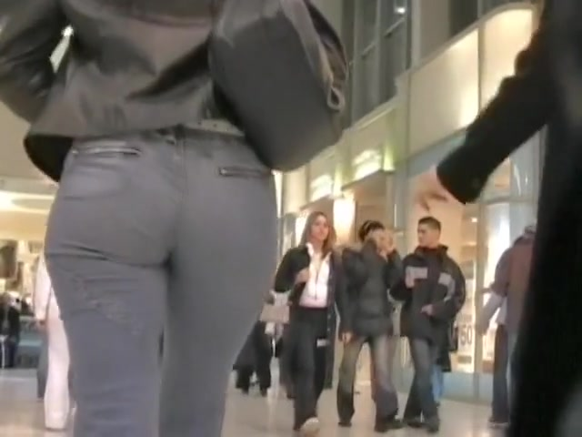 Candid street ass shaking cheecks at shopping hunger games porn parody
