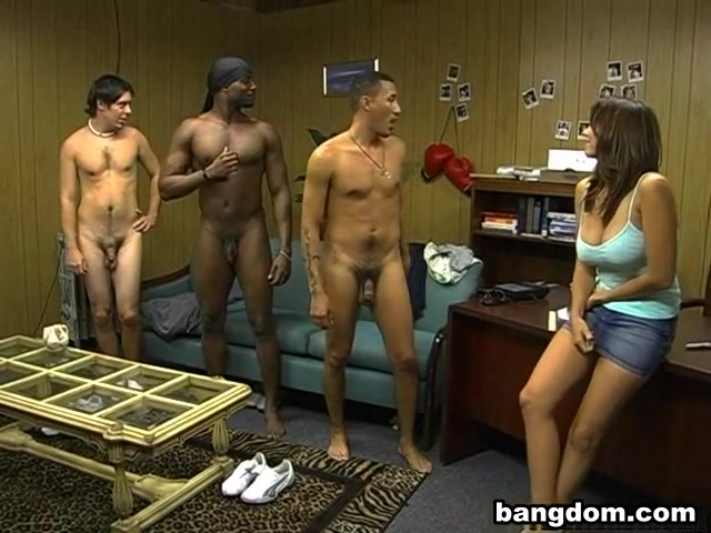 Three Guys On The Couch Kat Von D Blowjob