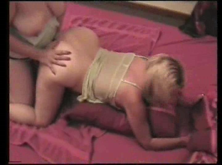 Teen girls striping young