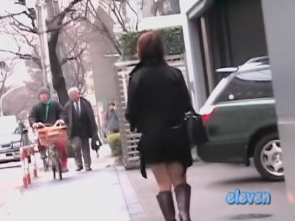 Cute Asian babe gets a skirt sharking on the street. Women masturbatinb and sucking tits