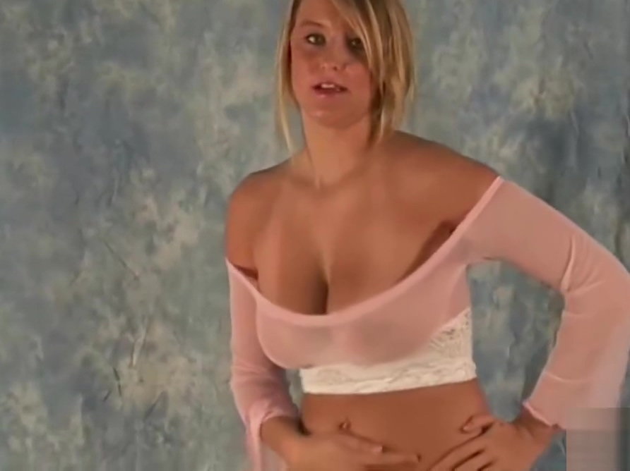 Lovely Traci and her cute little Dress