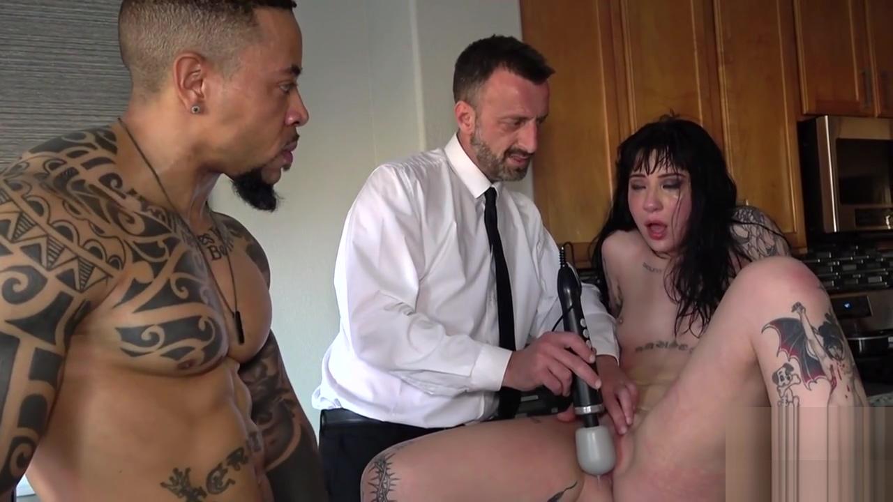 Dominated slut blacked by huge cock