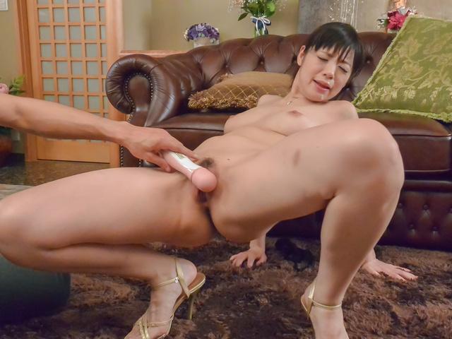Sweet Nao Mizuki in rough Asian threesom - More at javhd.net