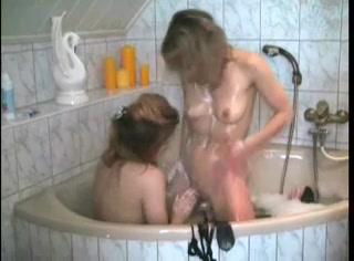 Lesbien licking Boobed pornex