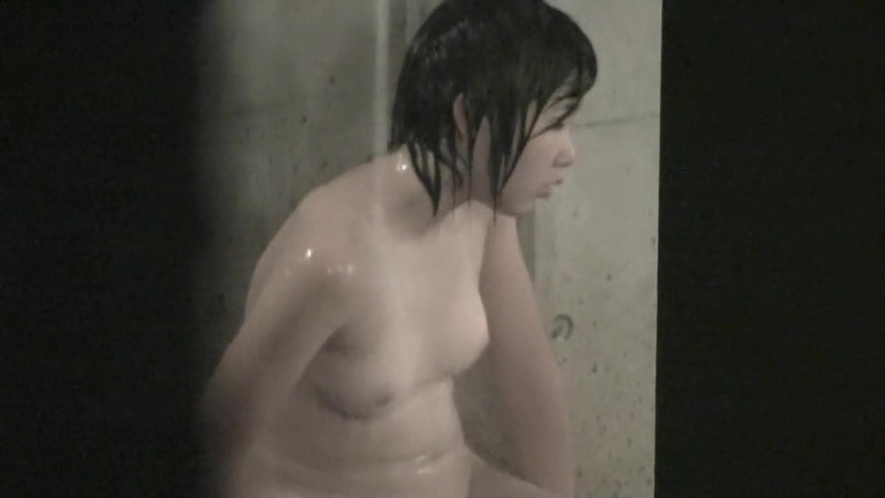 Wet bodied Asian shows her natural tits on shower spy cam nri003 00 / Upornia.com
