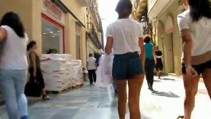 Short shorts, teenage booties Bbw paula facial