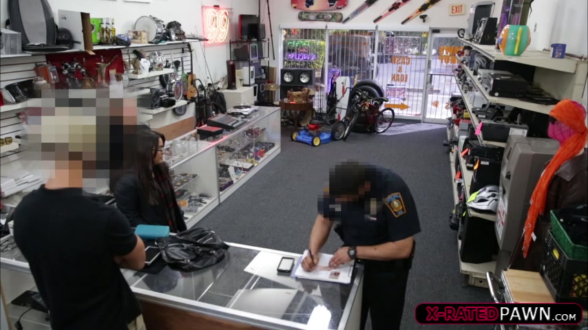 Lesbian Babes receives humilated at pawnshop after they pawn a moose head. Karlee Grey guzlles the BBC and licks balls