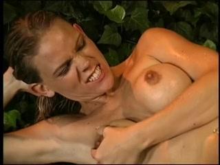Kitchen Sex Bridget the midget pornstar