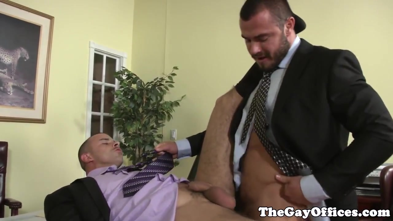 Uniformed gay office hunk pounding ass Sexy Milf Cougar