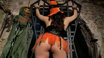 witch in boots Busty lesbo tongue fucked