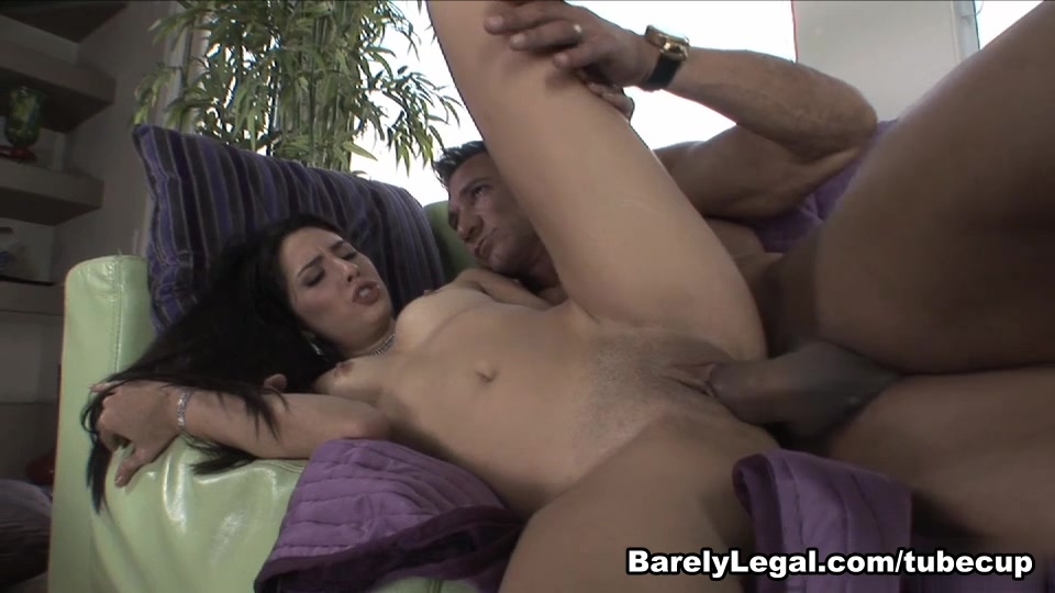 Rachel Rose in Barely Legal #142 Border war game