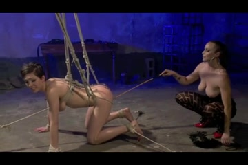 A Gorgeous Short Hair in Pain OtO. girls fucking girls with strapons