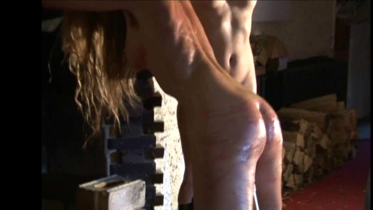 impaled and whipped Bdsm huge dildo
