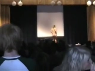 Stripping at school assembly Nikki benz pornstar