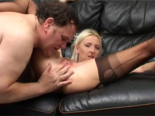 Obscene Golden-Haired British Whore Takes It Up Her Booty !