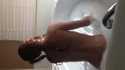 Cutie twerking in her washroom Advanced affordable hearing