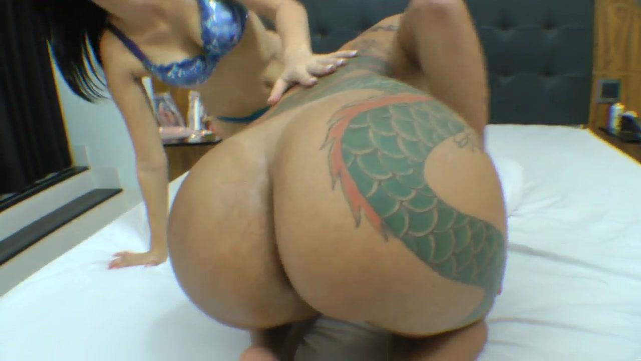 Ebony interracial booty Big